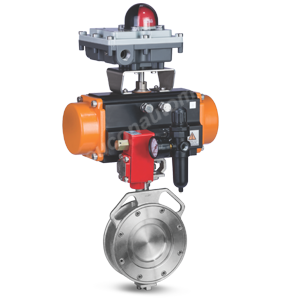 DOUBLE OFFSET BUTTERFLY VALVE
