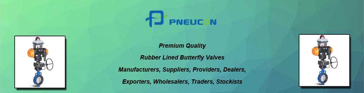 Rubber Lined Butterfly Valves Stockists